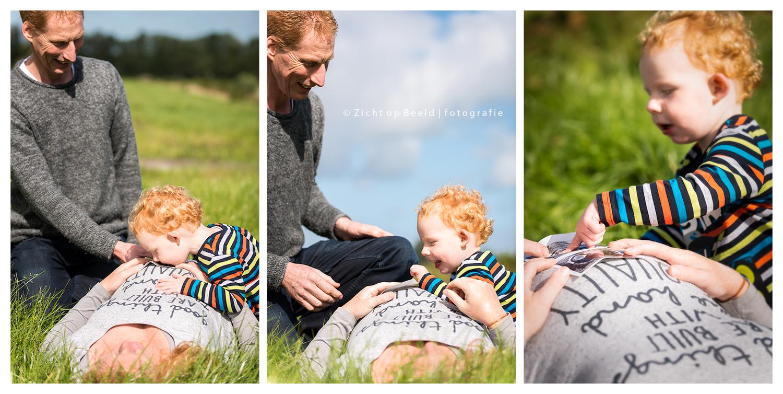 Zwangerschapsshoot Johan en Annette