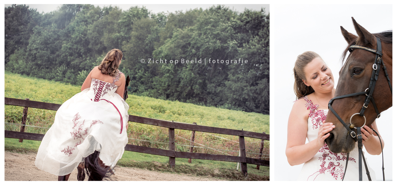 Trash the dress - Ellen en Dennis